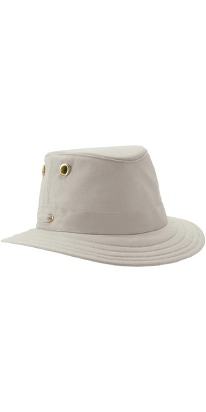 2018 Tilley T5 Cotton Duck Brimmed Hat - KHAKI / OLIVE