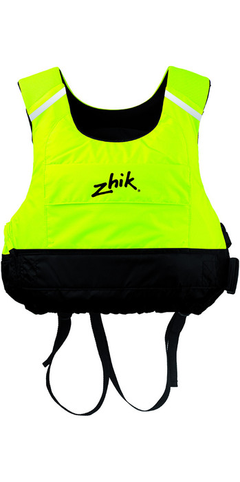 2020 Zhik Junior Racing Cut 50N PFD Buoyancy Aid Hi-Vis Yellow PFD15
