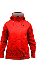 Zhik Kiama Womens Inshore Sailing Jacket Flame Red J101W