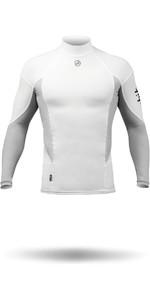 2019 Zhik Long Sleeve Spandex Top WHITE TOP61