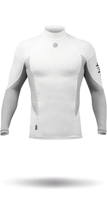 2020 Zhik Long Sleeve Spandex Top Crisp White TOP61