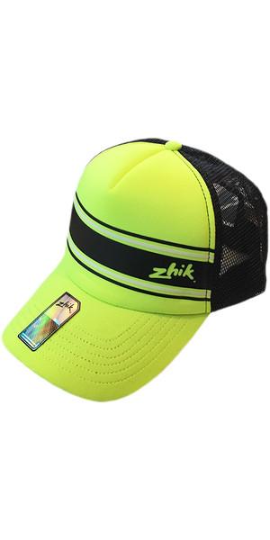 2019 Zhik Trucker Cap HiVis Yellow HAT301