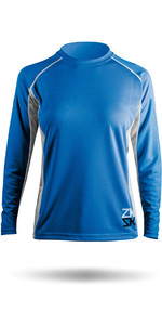Zhik Womens Long Sleeve ZhikDry Top Blue Top72W