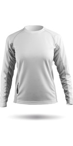 Zhik Womens Long Sleeve ZhikDry Top White Top72W
