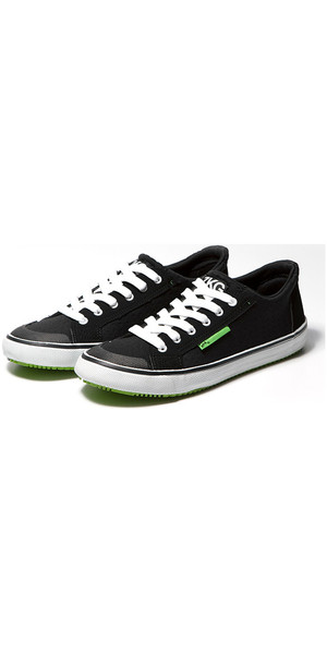 2018 Zhik ZKGs Amphibious Shoes Black / Lime (Green) SHOE20