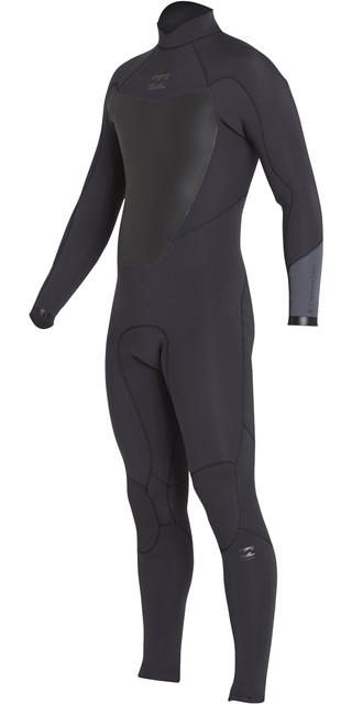 2018 Billabong Absolute 3/2mm Back Zip Flatlock Wetsuit Black Sands H43m15 Picture