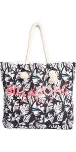 2018 Billabong Essentials Tote bag FEATHER BLACK PEBBLE H9BG09