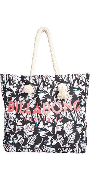 2018 Billabong Essentials Tote bag FEATHER BLACK PEBBLE H9BG09