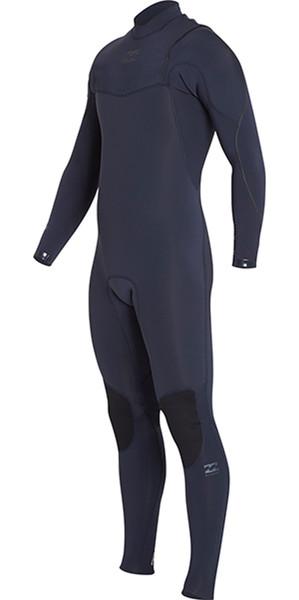 2018 Billabong Junior Furnace Comp 3/2mm Zipperless Wetsuit HEATHER BLUE H43B04