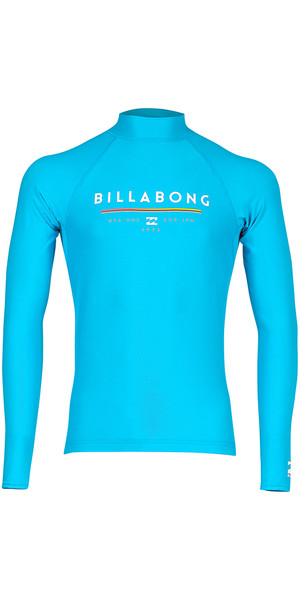 2018 Billabong Junior Unity Long Sleeve Rash Vest OCEAN H4KY02