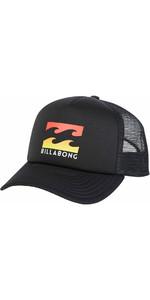 2018 Billabong Podium Trucker BLACK / MULTI C5CT01