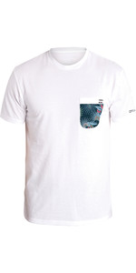 2018 Billabong Team Pocket Short Sleeve Loose Fit Surf Tee WHITE H4EQ01