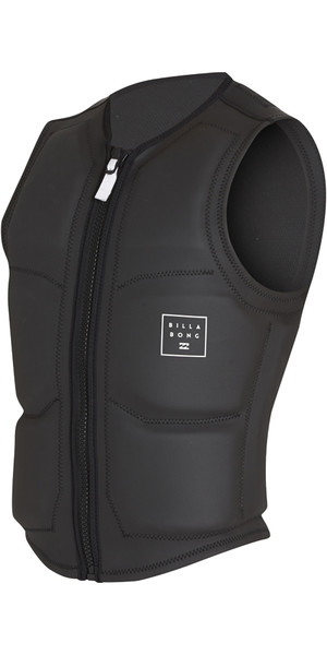 2018 Billabong Visions Wake Impact Vest BLACK H4VS05