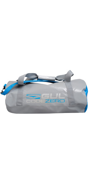 2018 GUL Code Zero 28L Holdall GREY / BLUE LU0179
