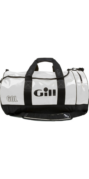 2019 Gill 60L Tarp Barrel Bag WHITE L061