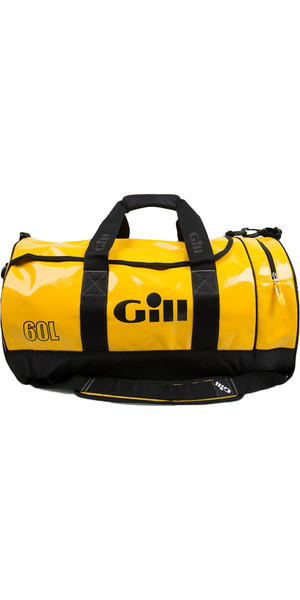2018 Gill 60L Tarp Barrel Bag YELLOW L061