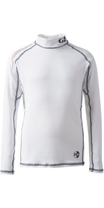 2019 Gill Junior Pro Rash Vest WHITE 4430J