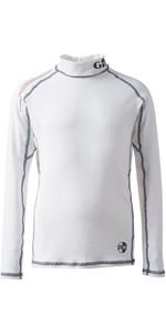 2019 Gill Junior Pro Rash Vest WHITE 4430J