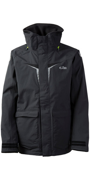 2019 Gill OS3 Mens Coastal Jacket GRAPHITE OS31J