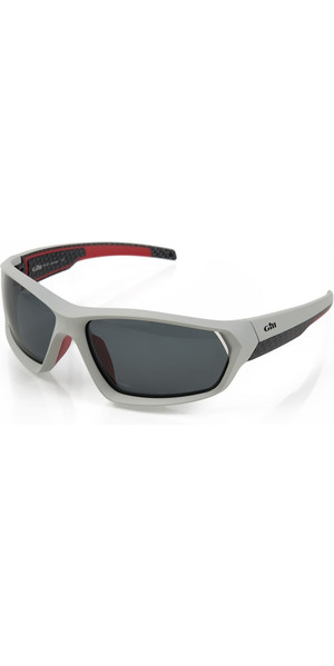 2018 Gill Race Sunglasses Silver RS15