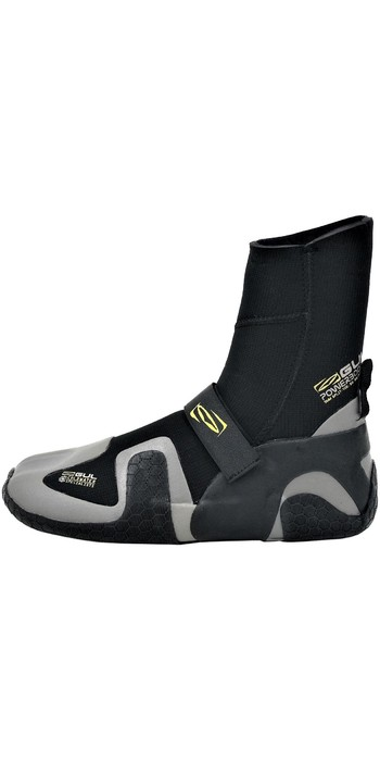 2019 Gul Power 5mm Split Toe Wetsuit Boot Black / grey BO1309-B4