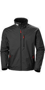2019 Helly Hansen Crew Midlayer Jacket Black 30253