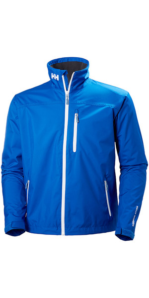 2018 Helly Hansen Crew Midlayer Jacket Olympian Blue 30253