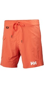 2018 Helly Hansen HP Shore Trunk Swimming Shorts Paprika 53015