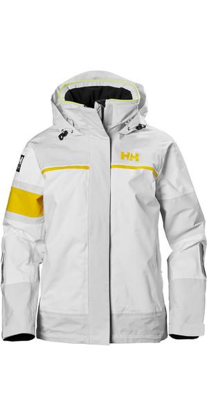 2018 Helly Hansen Womens Salt Light Jacket Nimbus Cloud 33925