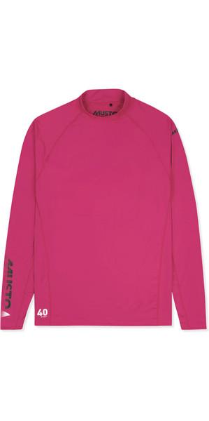 2019 Musto Womens Insignia UV Fast Dry Long Sleeve T-Shirt Magenta SUTS010