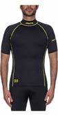 2021 Musto UPF50 Short Sleeve Rash Vest Black SUTS004