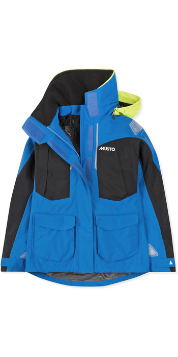 2021 Musto Womens BR2 Offshore Jacket Brilliant Blue SWJK014