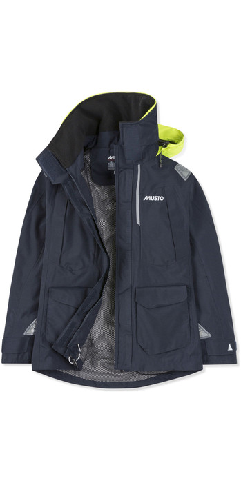 2021 Musto Womens BR2 Offshore Jacket True Navy SWJK014