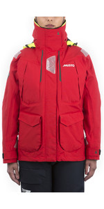 2021 Musto Womens BR2 Offshore Jacket True Red SWJK014