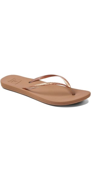 2018 Reef Womens Escape Lux Metals Flip Flops Copper RF0A3OL8COP