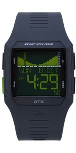 2020 Rip Curl Rifles Tide Surf Watch in Black / Green A1119