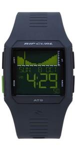 2020 Rip Curl Rifles Tide Surf Watch in Black / Green A1119