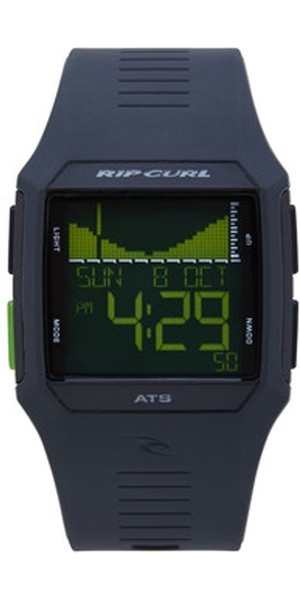 2018 Rip Curl Rifles Tide Surf Watch in Black / Green A1119