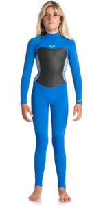 2018 Roxy Junior Girls Syncro Series 3/2mm GBS Back Zip Wetsuit SEA BLUE II ERGW103013