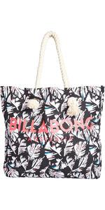 Billabong Essentials Tote bag FEATHER BLACK PEBBLE H9BG09