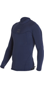 Billabong Proairlite 1mm Long Sleeve Neoprene Top HEATHER BLUE H41M01