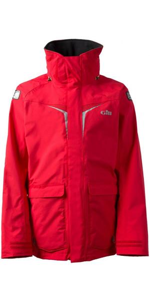 2018 Gill OS3 Mens Coastal Jacket BRIGHT RED OS31J