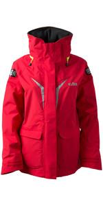 2019 Gill Womens OS3 Coastal Jacket BRIGHT RED OS31JW