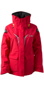 2019 Gill Womens OS3 Coastal Jacket BRIGHT RED OS31JW