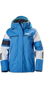 Helly Hansen Womens Salt Light Jacket Blue Water 33925