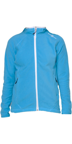 Henri Lloyd Womens Verve Fleece Hooded Jacket BALTIC BLUE S20105