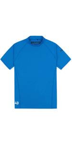 2019 Musto Mens Insignia UV Fast Dry Short Sleeve T-Shirt Brilliant Blue SUTS008