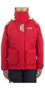 2020 Musto Womens BR2 Offshore Jacket True Red SWJK014