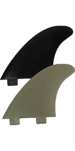 Eurofins E4 FCS Compatible Surfboard Fin EUR-E (set of 3)