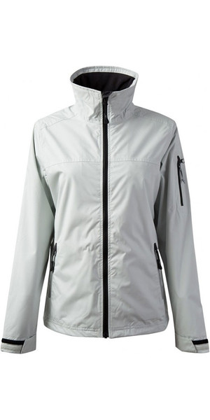2018 Gill Womens Crew Jacket in Silver 1041W